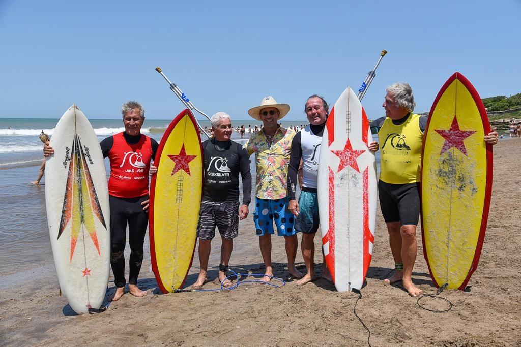 El Quiksilver 70'S y el Ala Moana Log Fest Rindieron Homenaje a la Historia del Surf Argentino